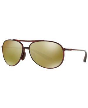 Sunglasses, 438 Alelele Bridge 60 in Brown Tortoise/Bronze Polar