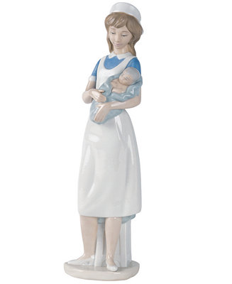 Nao By Lladro Nurse Collectible Figurine Amp Reviews Macy S
