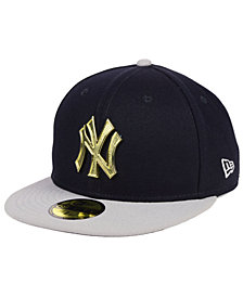 New Era New York Yankees Golden Finish 59FIFTY FITTED Cap