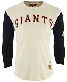 Mitchell & Ness Men's San Francisco Giants Wild Pitch Raglan T-Shirt
