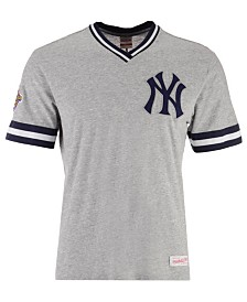 Mitchell & Ness Men's New York Yankees Coop Overtime Vintage T-Shirt