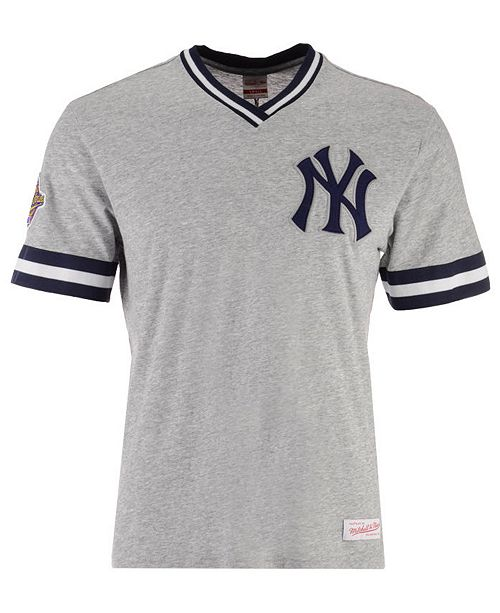 b00bf931ed1 ... T-Shirt; Mitchell & Ness Men's New York Yankees Coop Overtime Vintage  ...