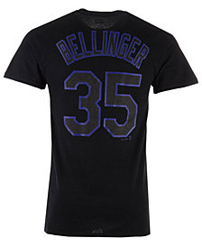 Majestic Men's Cody Bellinger Los Angeles Dodgers Pitch Black Player T-Shirt
