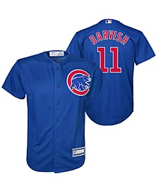 Yu Darvish Chicago Cubs Player Replica Cool Base Jersey, Big Boys (8-20)