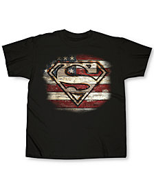 Changes Men's Superman Branded Wood Graphic T-Shirt