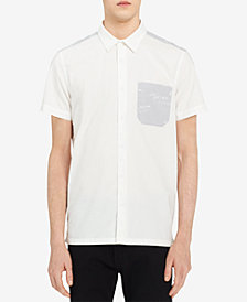 Calvin Klein Jeans Men's Graffiti Pocket Shirt