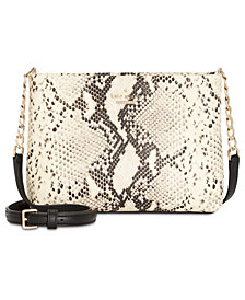 kate spade new york Python Caterina Small Crossbody