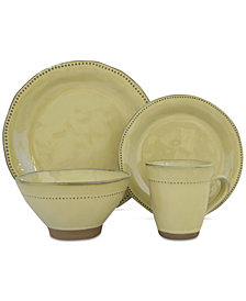 Sango Cyprus Beige 16-Pc. Dinnerware Set