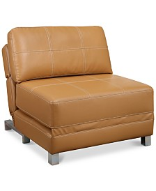 Gustin Futon Chair, Quick Ship