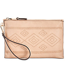 I.N.C. Molyy Aztec Wristlet Clutch, Created for Macy's