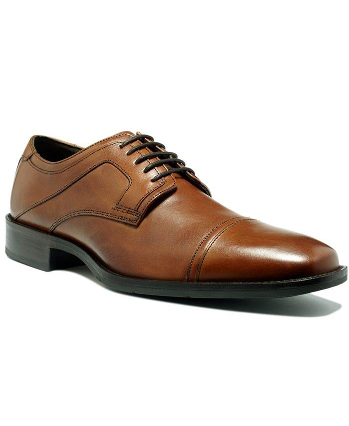 Johnston & Murphy - Shoes, Larsey Cap Toe Oxfords