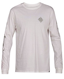 Hurley Men's Glyphs Long Sleeve T-Shirt