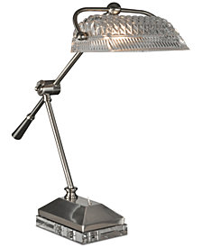 Dale Tiffany Devlin Crystal Desk Lamp