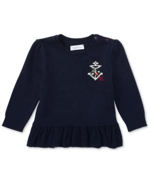 Ralph Lauren Peplum Sweater,...