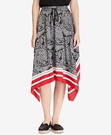 Lauren Ralph Lauren Petite Printed Skirt