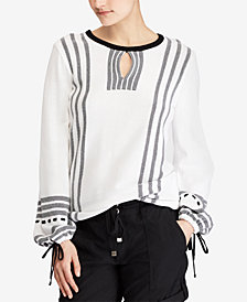 Lauren Ralph Lauren Petite Cotton Sweater