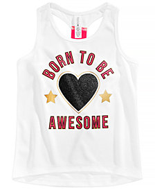 Ideology Little Girls Awesome-Print Tank Top, Created for Macy's