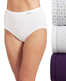 Jockey Plus Size Elance Brief 3 Pack 1486