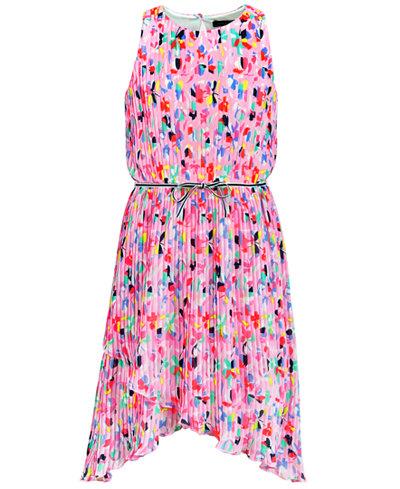 Tommy Hilfiger Pleated Dress, Big Girls