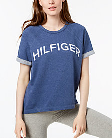 Tommy Hilfiger Sport Logo High-Low T-Shirt, Created for Macy's