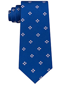 Sean John Men's Grid Dot Silk Tie