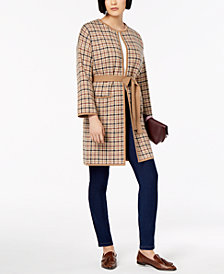 Weekend Max Mara Cipria Printed Belted Jacket