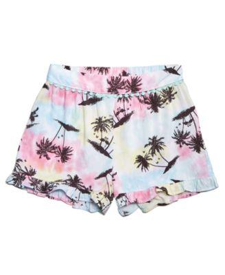 Big Girls Ruffle-Trim Shorts, Created for Macy's