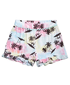 Epic Threads Big Girls Ruffle-Trim Shorts, Created for Macy's