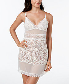 Linea Donatella Bellisima Bridal Sheer Lace Chemise