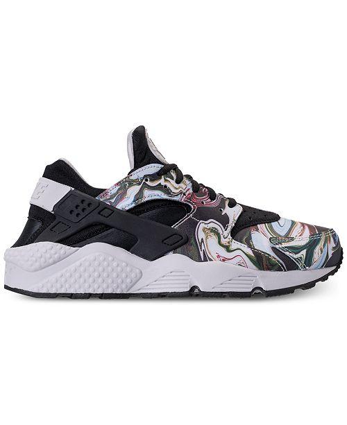 20f56d3527c8 ... Nike Women s Air Huarache Run Premium Running Sneakers from Finish ...