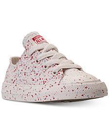 Converse Toddler Boys' Chuck Taylor Ox Splatter Casual Sneakers from Finish Line