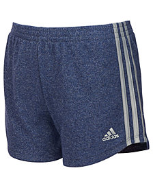 adidas Big Girls Sparkle Sport Shorts
