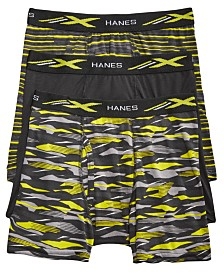 Hanes Little & Big Boys 3-Pk. Boxer Briefs