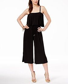 MICHAEL Michael Kors Cropped Jumpsuit, Regular & Petite