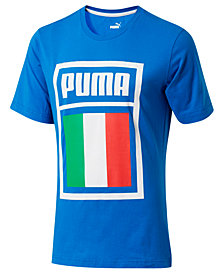 Puma Men's Forever Football Italy Soccer T-Shirt