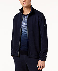 Michael Kors Men's Seersucker Track Jacket
