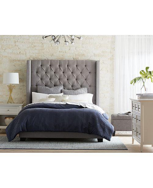 Furniture Monroe Upholstered Bedroom Furniture Collection