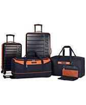 Nautica Sea Tide 5-Pc. Hardside Luggage Set, Created for Macy s 010cc763b4