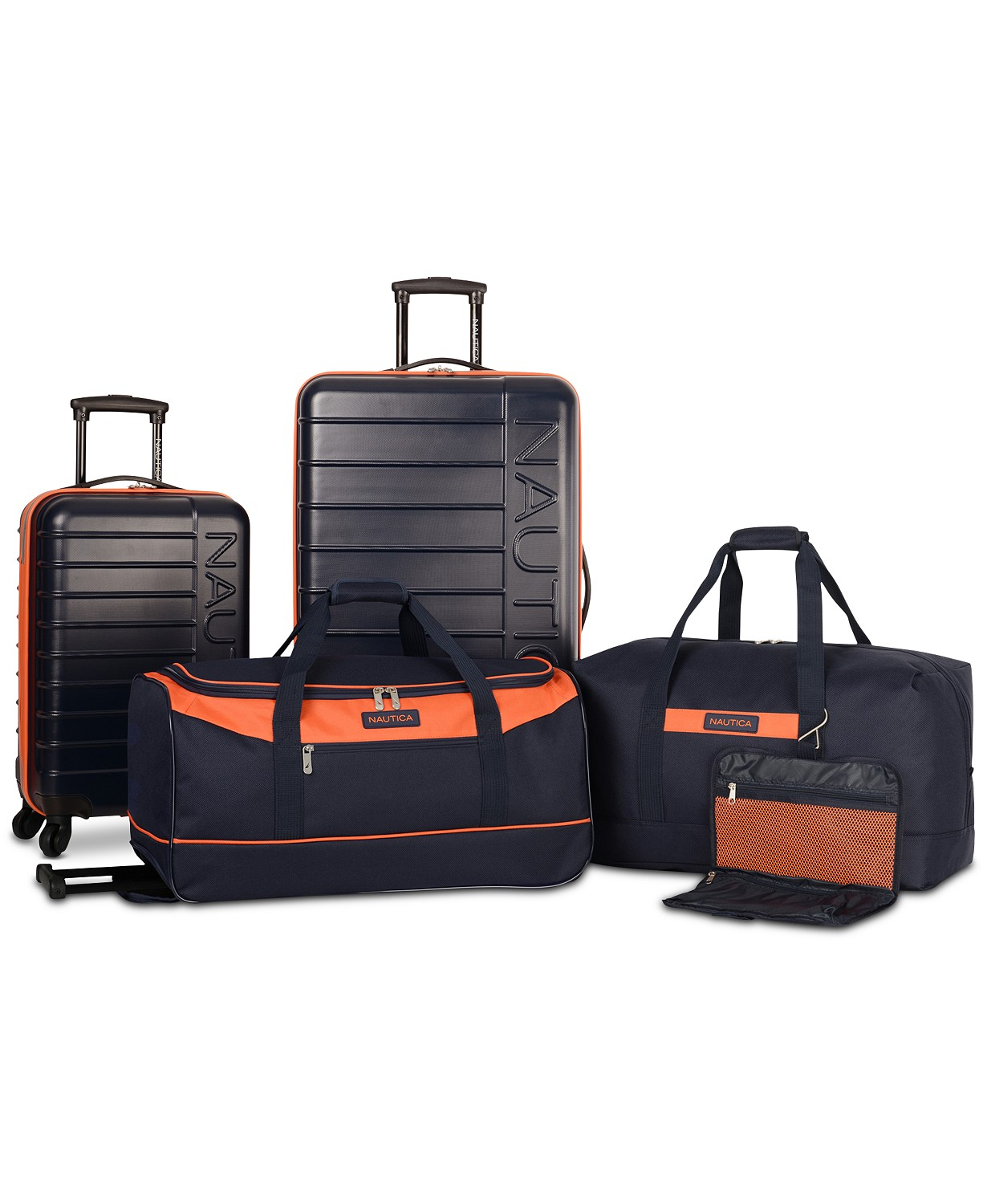 Nautica Sea Tide 5 Pc. Hardside Luggage Set