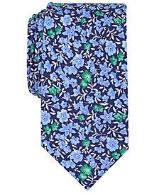 Bar III Men's Horan Floral Skinny Tie, Created for Macy's