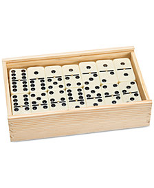Premium Set of 55 Double Nine Dominoes with Wood Case