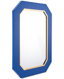 CLOSEOUT! Zuo  Asti Blue-Framed Mirror