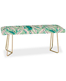 Deny Designs Holli Zollinger Jungle Palm Tropica Bench