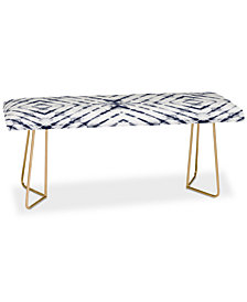 Deny Designs Little Arrow Design Co Shibori Tie Dye Bench