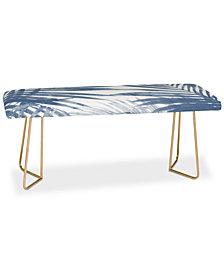 Deny Designs Emanuela Carratoni Serenity Palms Bench