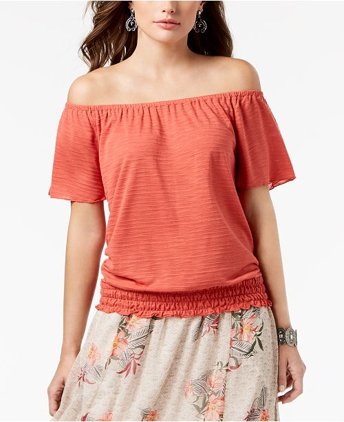 1d7856437f356a ... Style   Co Convertible Off-The-Shoulder Top