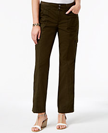 Style & Co Petite Convertible Cargo Pants, Created for Macy's