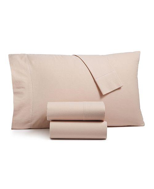 Westport Linen Cotton Full 4-pc Sheet Set