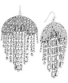 Steve Madden Crystal Chandelier Earrings