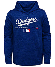 Outerstuff Los Angeles Dodgers Team Drive Fleece Hoodie, Big Boys (8-20)